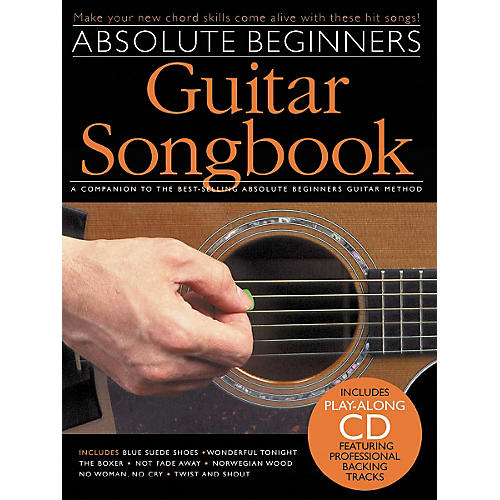 music sales absolute beginners guitar songbook book cd guitar center. Black Bedroom Furniture Sets. Home Design Ideas