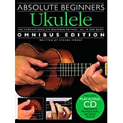 Music Sales Absolute Beginners Ukulele - Books 1 & 2 with CD