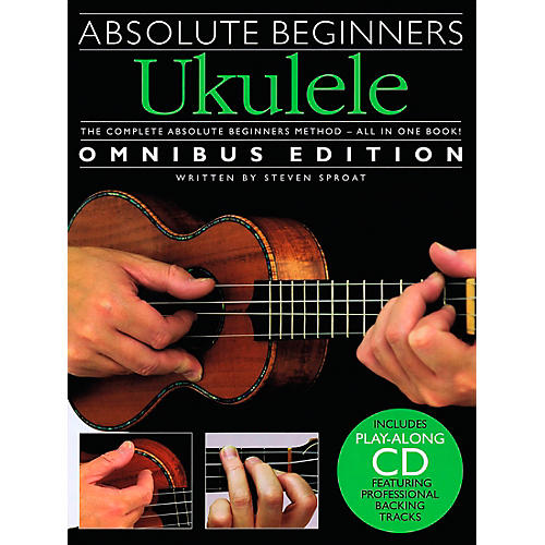Music Sales Absolute Beginners Ukulele - Books 1 & 2 with CD-thumbnail