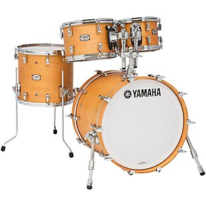 Yamaha Absolute Hybrid Maple 4-Piece Shell Pack with 20 inch Bass Drum