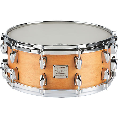 Yamaha Absolute Maple Snare Drum 14 x 6 Vintage Natural