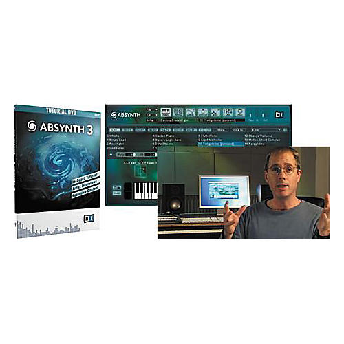Native Instruments Absynth 3 Tutorial DVD-thumbnail