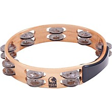 Toca Acacia Wood Double Row Tambourine