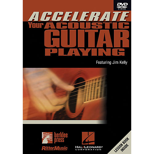 Hal Leonard Accelerate Your Acoustic Guitar Playing DVD-thumbnail