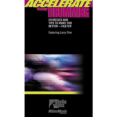 Hal Leonard Accelerate Your Drumming Video