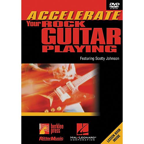 Hal Leonard Accelerate Your Rock Guitar Playing DVD-thumbnail