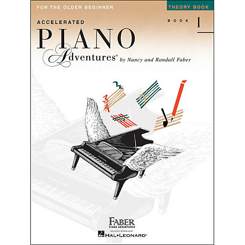 Faber Piano Adventures Accelerated Piano Adventures Theory Book 1 For The Older Beginner-thumbnail