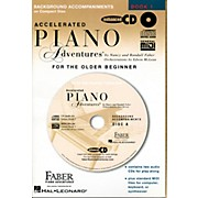 Faber Piano Adventures Accelerated Piano Adventures for The Older Beginner CD - Faber Piano