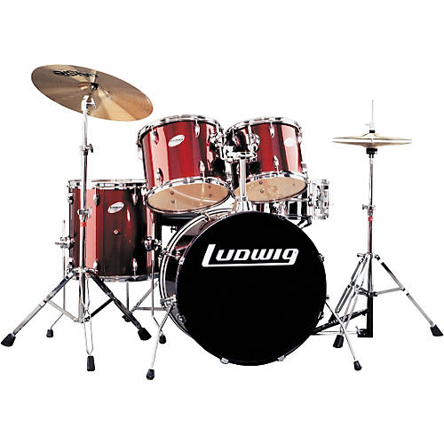 Ludwig Accent 5-Piece Power Shell Pack
