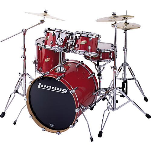Ludwig Accent CS Custom Elite Fusion 5-Piece Drum Set