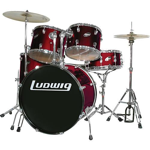 ludwig accent series complete drum set wine guitar center. Black Bedroom Furniture Sets. Home Design Ideas