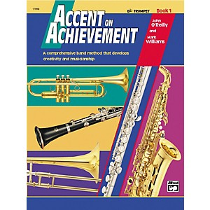 Alfred Accent on Achievement Bb Trumpet Book 1 with CD by Alfred