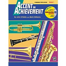 Alfred Accent on Achievement Book 1 Combined PercussionS.D. B.D. Access. & Mallet Percussion Book & CD