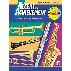 Alfred Accent on Achievement Book 1 Combined PercussionS.D. B.D. Access. and ... by Alfred