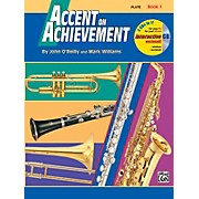 Accent on Achievement Book 1 Flute Book & CD