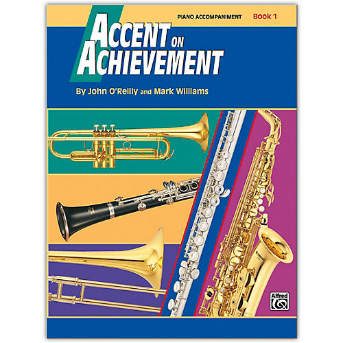 Alfred Accent on Achievement Book 1 Piano Acc. with CD-thumbnail
