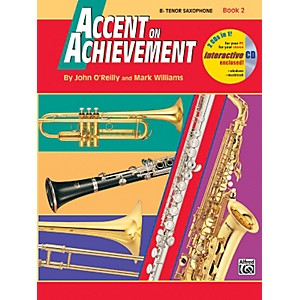 Alfred Accent on Achievement Book 2 B-Flat Tenor Saxophone Book and CD by Alfred
