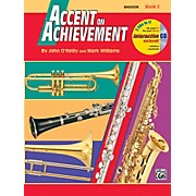 Alfred Accent on Achievement Book 2 Bassoon Book & CD