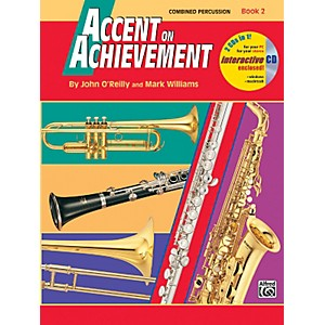 Alfred Accent on Achievement Book 2 Combined PercussionS.D. B.D. Access. Ti... by Alfred