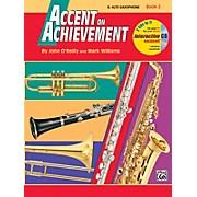 Alfred Accent on Achievement Book 2 E-Flat Alto Saxophone Book & CD