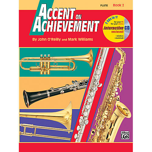 Alfred Accent on Achievement Book 2 Flute Book & CD-thumbnail