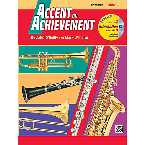 Alfred Accent on Achievement Book 2 Horn in F Book & CD-thumbnail