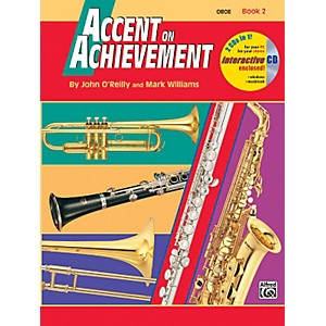 Alfred Accent on Achievement Book 2 Oboe Book and CD by Alfred