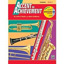 Alfred Accent on Achievement Book 2 Trombone Book & CD
