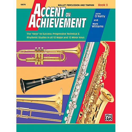 Alfred Accent on Achievement Book 3 Mallet Percussion & Timpani
