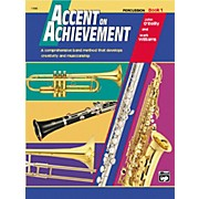 Alfred Accent on Achievement Percussion Volume 1 with CD