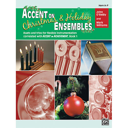 Alfred Accent on Christmas and Holiday Ensembles Horn in F-thumbnail