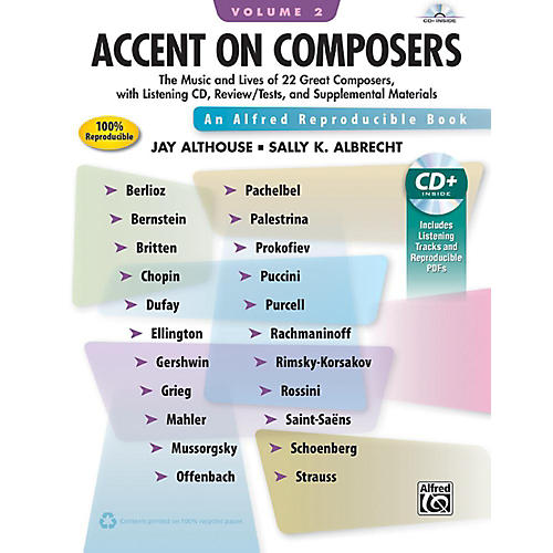 Alfred Accent on Composers Volume 2 Book & CD-thumbnail