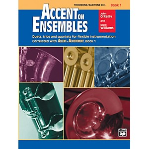 Alfred Accent on Ensembles Book 1 Trombone Baritone B.C. by Alfred