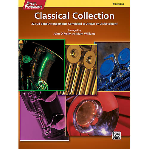 Alfred Accent on Performance Classical Collection Trombone Book