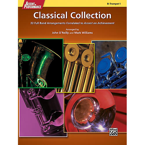 Alfred Accent on Performance Classical Collection Trumpet 1 Book-thumbnail