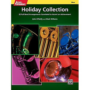 Alfred Accent on Performance Holiday Collection Oboe Book by Alfred