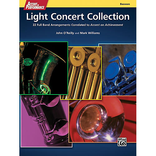 Alfred Accent on Performance Light Concert Collection Bassoon Book-thumbnail