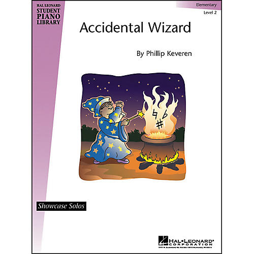 Hal Leonard Accidental Wizard Elementary Level 2 Showcase Solo Hal Leonard Student Piano Library