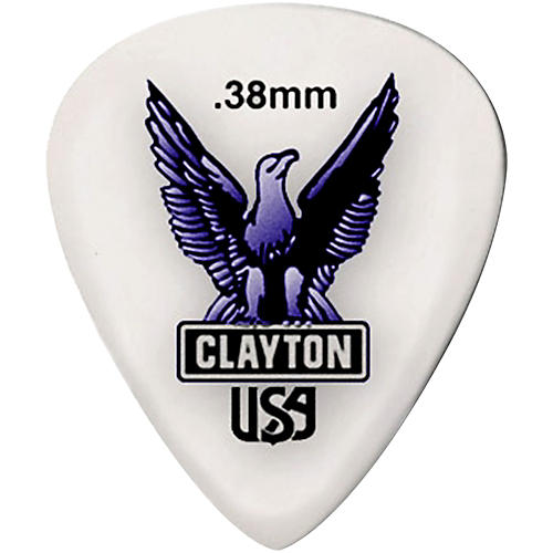 Clayton Acetal Standard Guitar Picks-thumbnail
