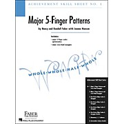 Faber Piano Adventures Achievement Skill Sheet No.1: Major 5-Finger Patterns - Faber Piano