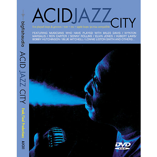Big Fish Acid Jazz City Audio Loops
