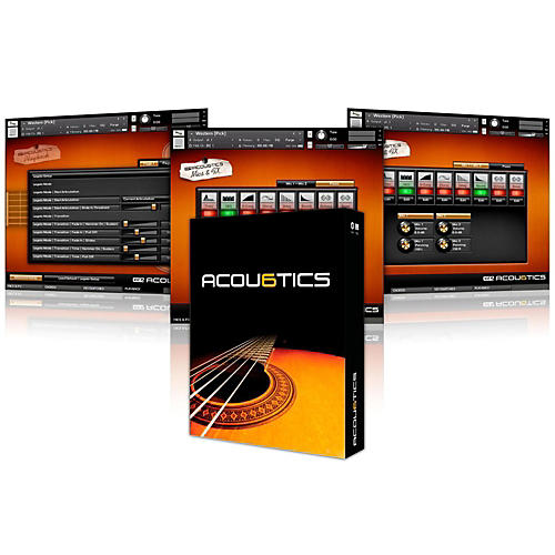 Vir2 Acou6tics (Kontakt Player 5/Plug-in) Boxed