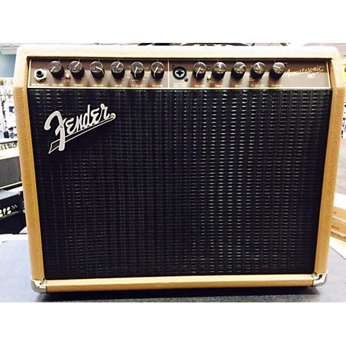 Fender Acoustasonic 90 TAN Acoustic Guitar Combo Amp TAN