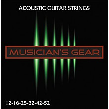 Musician's Gear Acoustic 12 80/20 Bronze Acoustic Guitar Strings