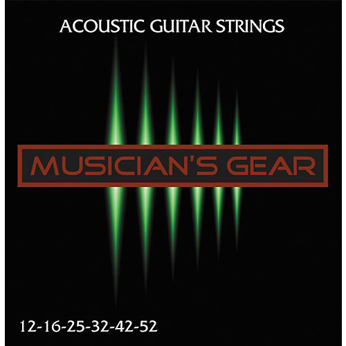 Musician's Gear Acoustic 12 80/20 Bronze Acoustic Guitar Strings-thumbnail