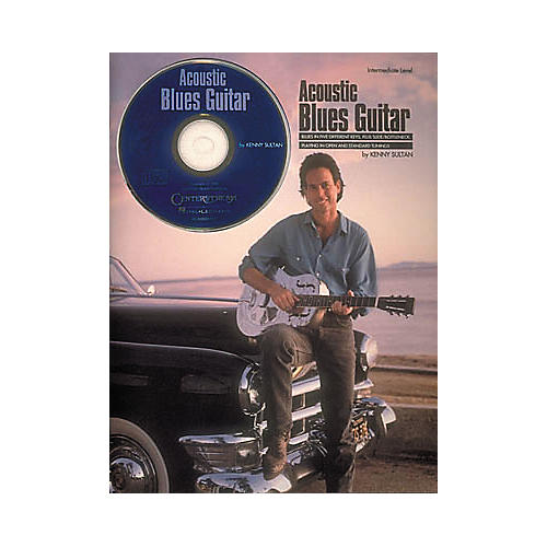 Centerstream Publishing Acoustic Blues Guitar Book/CD