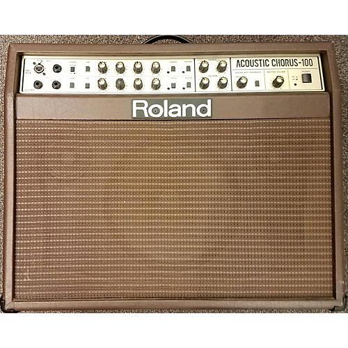 Roland Acoustic Chorus 100 Acoustic Guitar Combo Amp-thumbnail