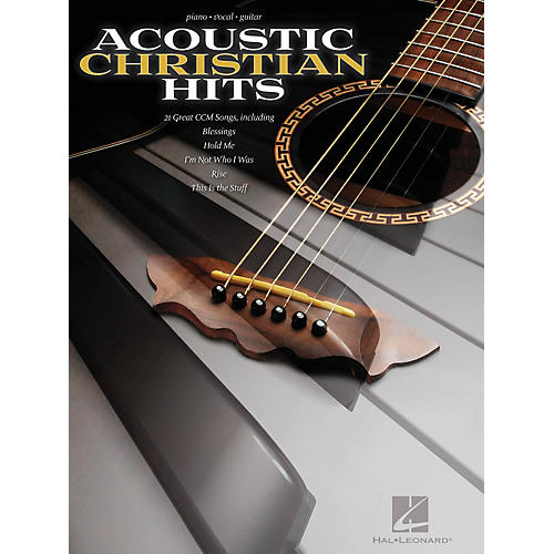 Hal Leonard Acoustic Christian Hits For Piano/Vocal/Guitar-thumbnail