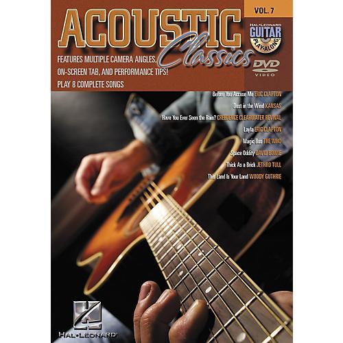 Hal Leonard Acoustic Classics - Guitar Play-Along Volume 7 (DVD)-thumbnail