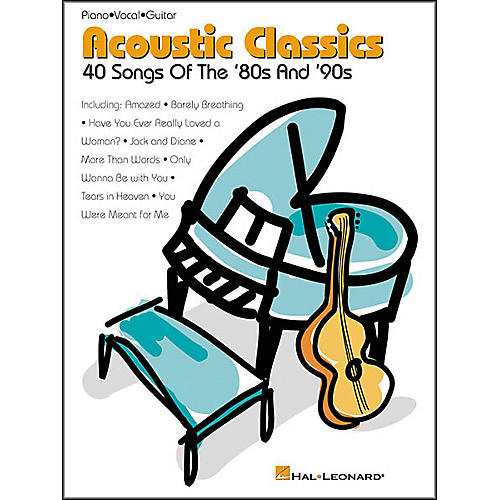 Hal Leonard Acoustic Classics '80s and '90s Songbook